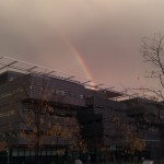 Rainbow over the Alan Turing Building
